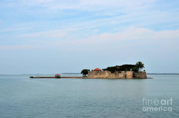 Photograph - Island Of Fort Hammenhiel Named After Fort Now A Resort Hotel Jaffna Sri Lanka by Imran Ahmed
