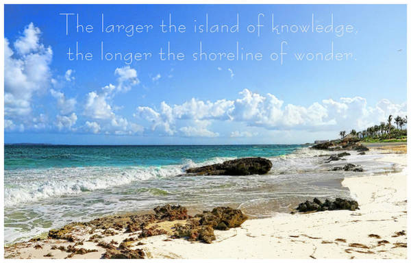 Photograph - Island Of Knowledge by Ola Allen