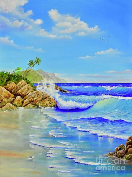 Painting - Island Paradise by Mary Scott