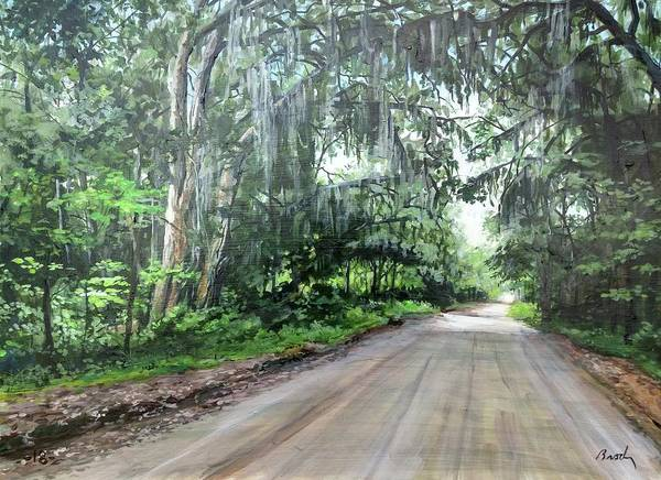Painting - Island Road by William Brody