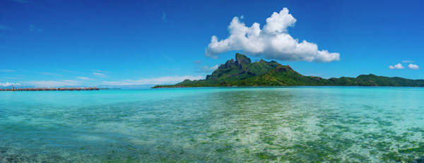 Wall Art - Photograph - Islands In The Pacific Ocean, Bora by Panoramic Images