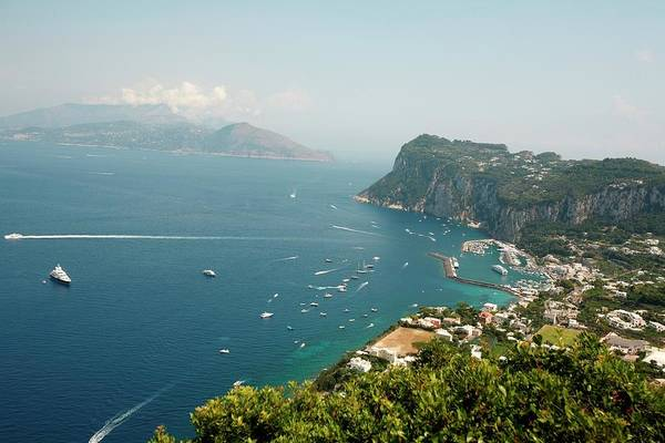 Isle Of Capri Art Print