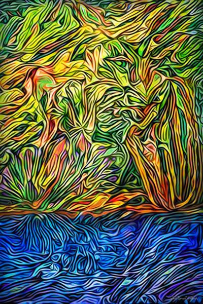 Digital Art - Isle Of Daydream Reflections by Joel Bruce Wallach