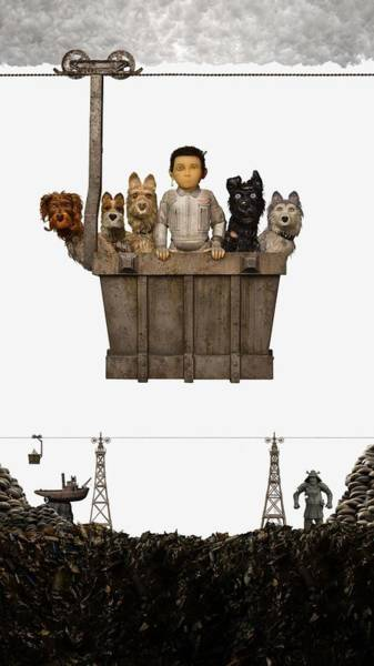 Wall Art - Digital Art - Isle Of Dogs by Geek N Rock