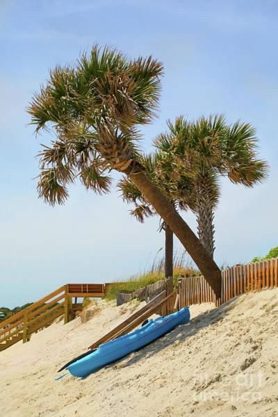 Wall Art - Photograph - Isle Of Palms Kayak Siesta by Sharon McConnell