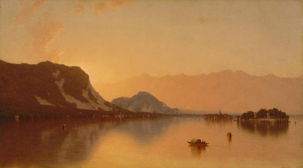 Painting - Isola Bella In Lago Maggiore, 1871 by Sanford Robinson Gifford