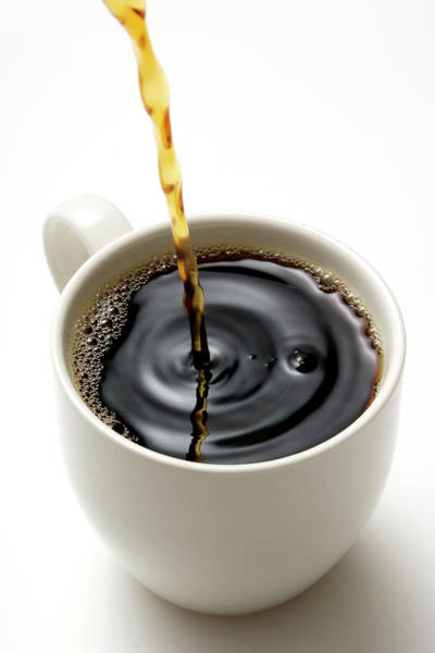 Break Up Photograph - Isolated Shot Of Pouring A Fresh Coffee by Kyoshino