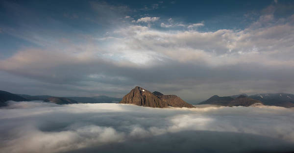 Bidean Nam Bian Photograph - Isolation by Garry Robertson