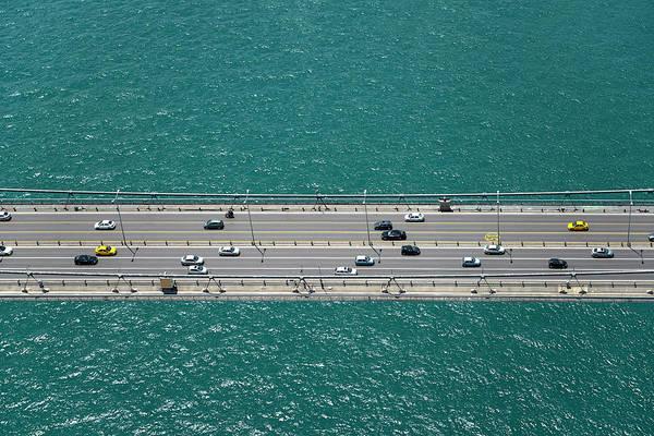 Photograph - Istanbul Bosphorus Bridge by Omersukrugoksu