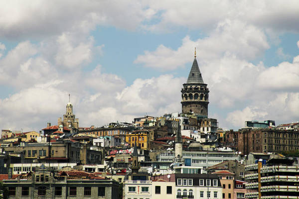 Galata Photograph - Istanbul Cityscape by Uygargeographic
