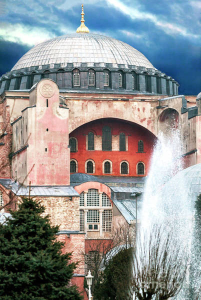 Sancta Sophia Photograph - Istanbul Hagia Sophia Fountain by John Rizzuto