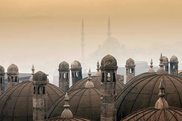 Suleymaniye Mosque Photograph - Istanbul-turkey by Ayhan Altun