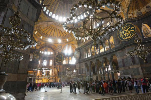 Welsh Church Photograph - Istanbul, Turkey.  Hagia Sophia by Ken Welsh