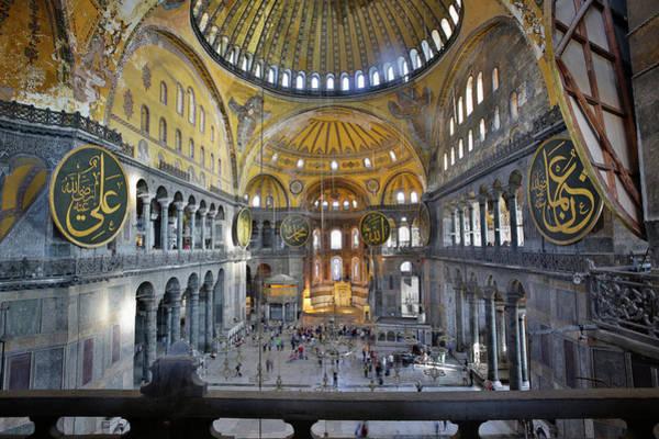 Wall Art - Photograph - Istanbul, Turkey.  Hagia Sophia Or by Ken Welsh