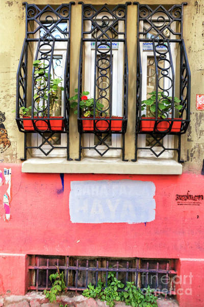 Turkiye Wall Art - Photograph - Istanbul Window Style by John Rizzuto