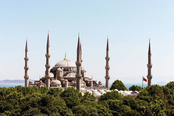 Istanbul Photograph - Istanbul,blue Mosque And Bosphorus by Gary Yeowell