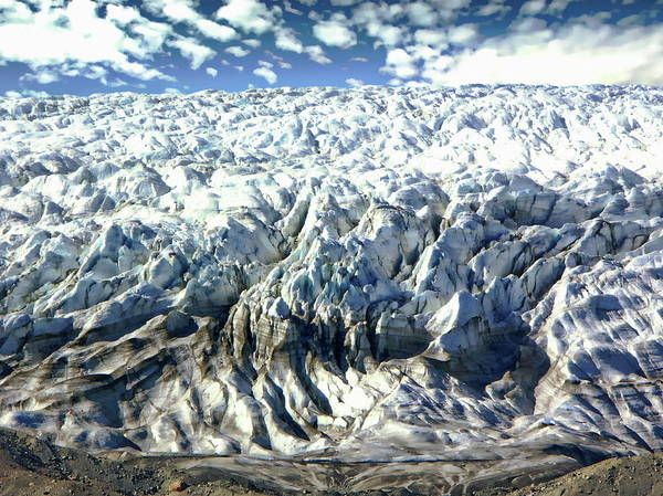Photograph - Isunnguata Sermia Glacier by Anthony Dezenzio