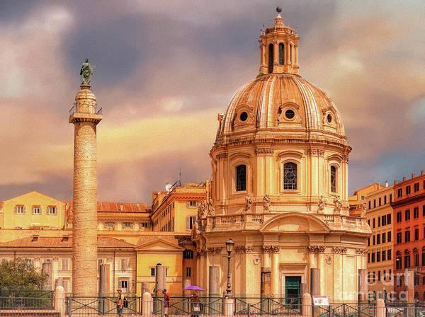Photograph - It Ain't Half Hot Mum, Rome by Leigh Kemp