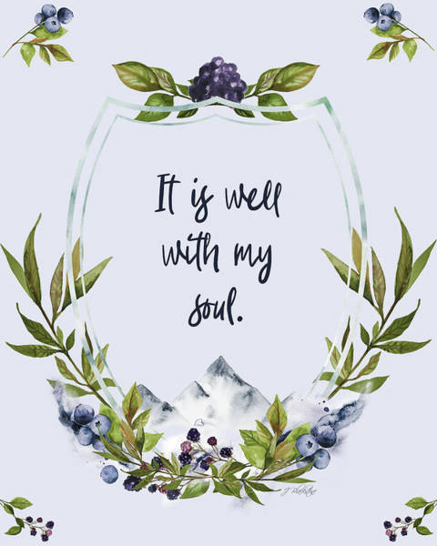 It Is Well With My Soul - Kindness Art Print