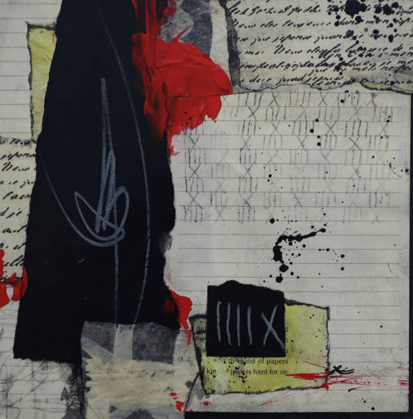 Wall Art - Mixed Media - It Was The Kind Of Papers by Laura Lein-Svencner