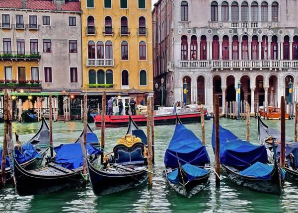 Wall Art - Photograph - Italian Canoe by Frozen in Time Fine Art Photography