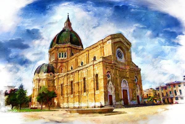Wall Art - Painting - Italian Church by ArtMarketJapan