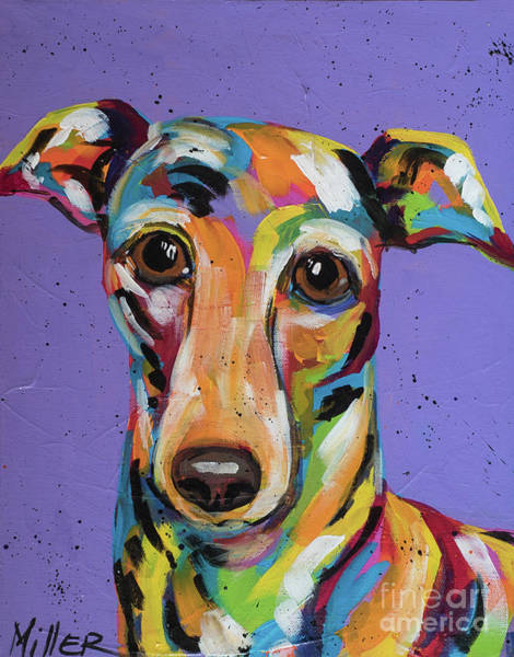 Wall Art - Painting - Italian Greyhound by Tracy Miller