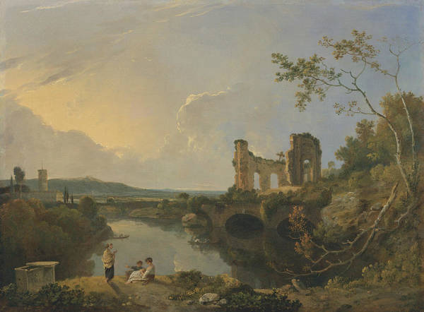 Painting - Italian Landscape by Richard Wilson