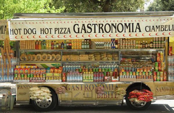 Photograph - Italian Snack Van by Lucazola