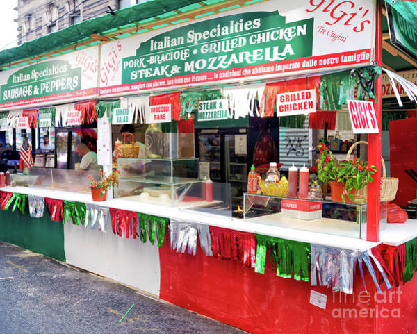 Wall Art - Photograph - Italian Specialties At Little Italy In New York City by John Rizzuto