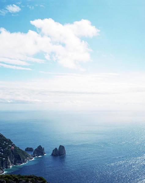 Capri Photograph - Italy, Campania, Isle Of Capri by Raymond Patrick