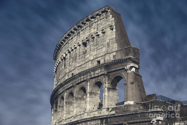 Wall Art - Photograph - Italy - Colosseum Selective Color by Stefano Senise
