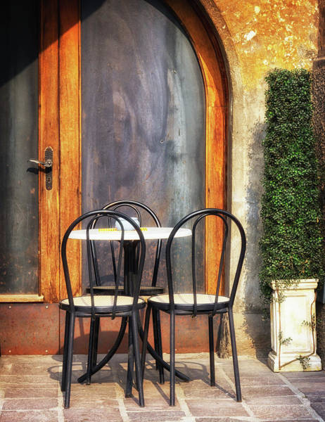 Patio Photograph - Italy by Foottoo
