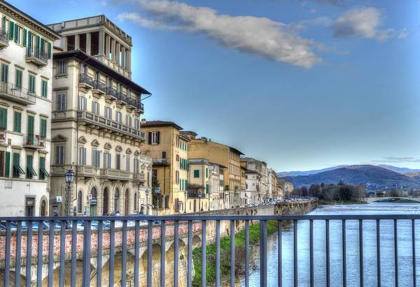 Photograph - Italy River by Bill Hamilton