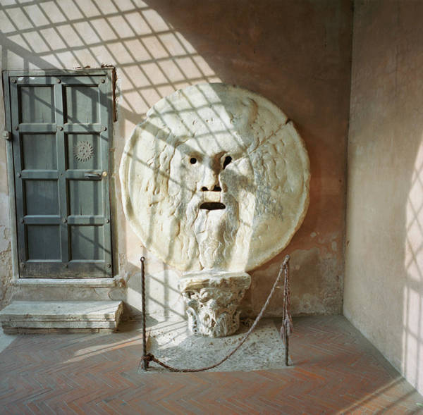 Photograph - Italy, Rome, The Mouth Of Truth by Silvia Otte