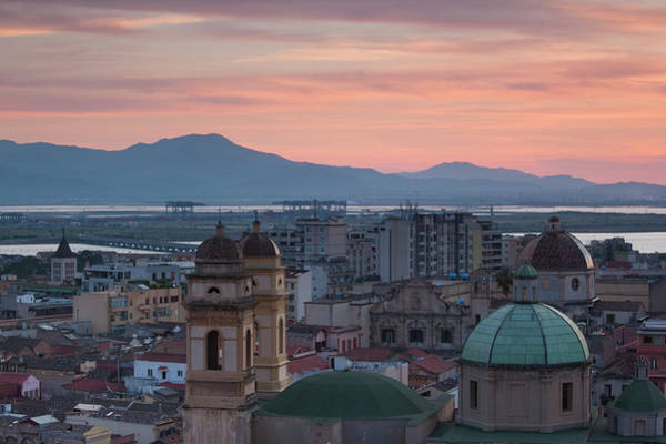 Sardinia Photograph - Italy, Sardinia, Cagliari, Stampace by Walter Bibikow