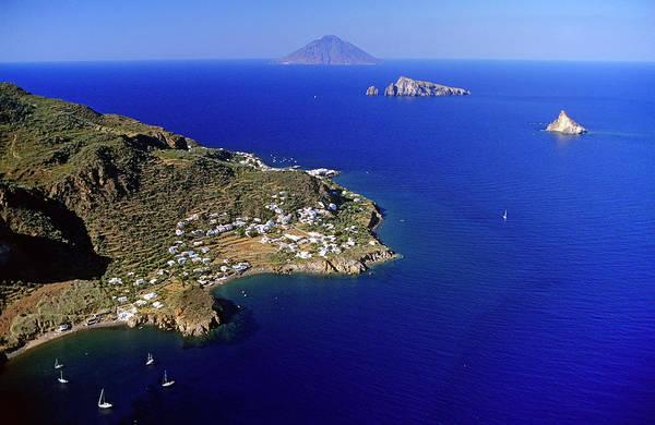 Sicily Photograph - Italy, Sicily, Aeolian Islands, Panarea by Du Boisberranger Jean / Hemis.fr