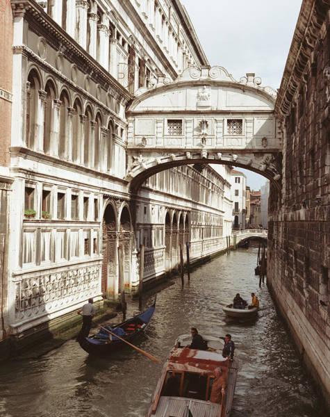 Bridge Photograph - Italy, Venice, Bridge Of Sighs by Luca Trovato