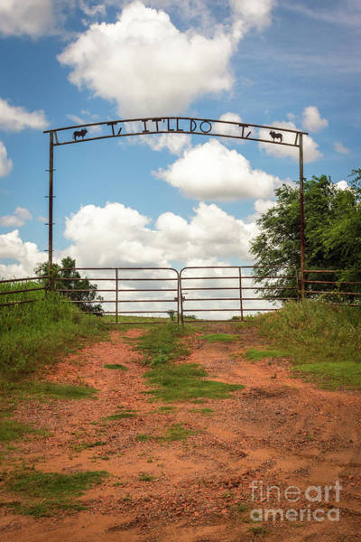 Photograph - It'll Do Ranch Entrance by Imagery by Charly