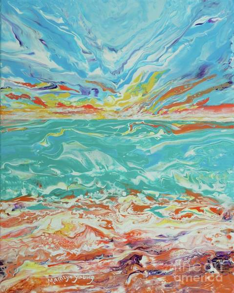 Painting - It's A Beach Day by Marilyn Young