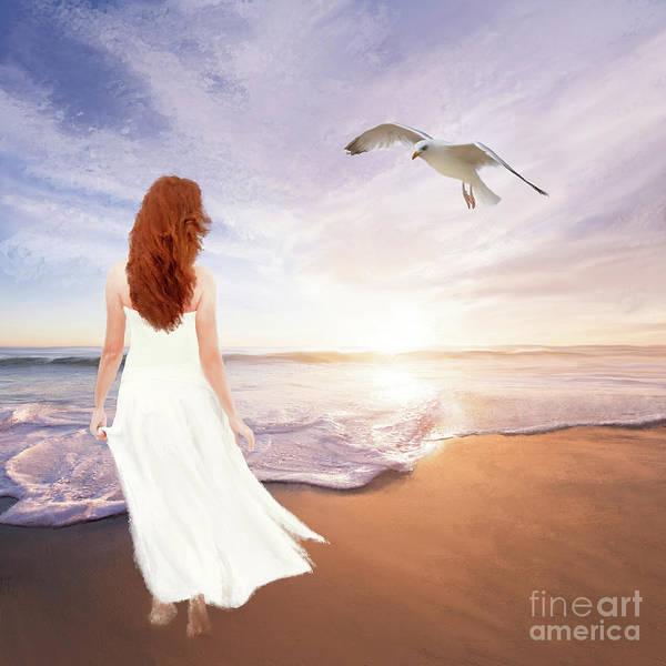 Digital Art - Its A Love Affair by Anne Vis
