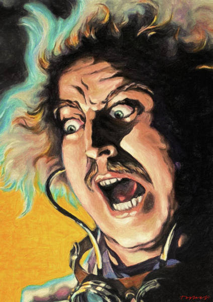 Wall Art - Painting - Its Alive - Young Frankenstein by Zapista Zapista