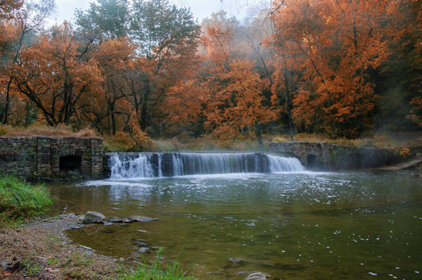 Photograph - It's Autumn In Valley Forge by Bill Cannon