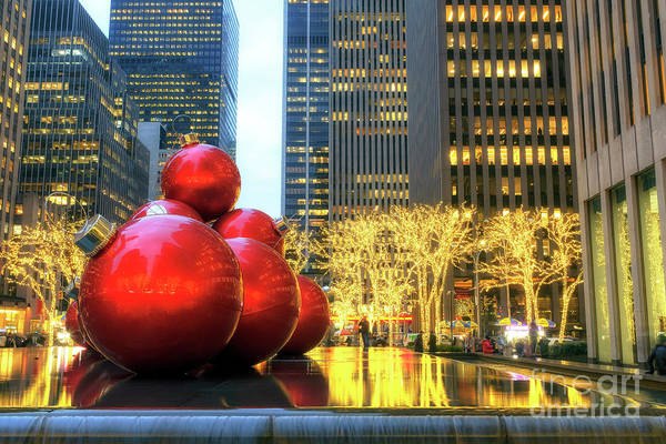 Photograph - It's Beginning To Look A Lot Like Christmas In New York City by John Rizzuto