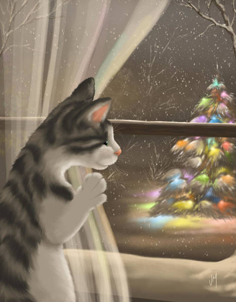 Wall Art - Painting - It's Christmas Time by Veronica Minozzi