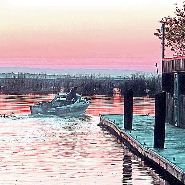 Photograph - It's Morning - Time To Fish by Joseph Coulombe