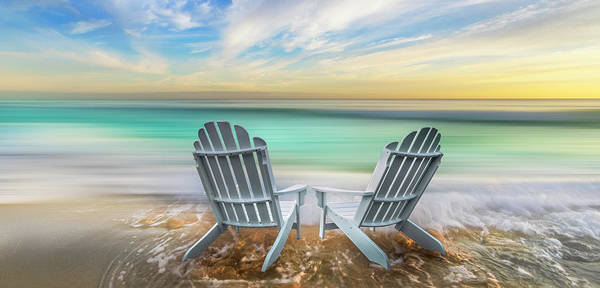 Photograph - It's Time To Relax Panorama by Debra and Dave Vanderlaan