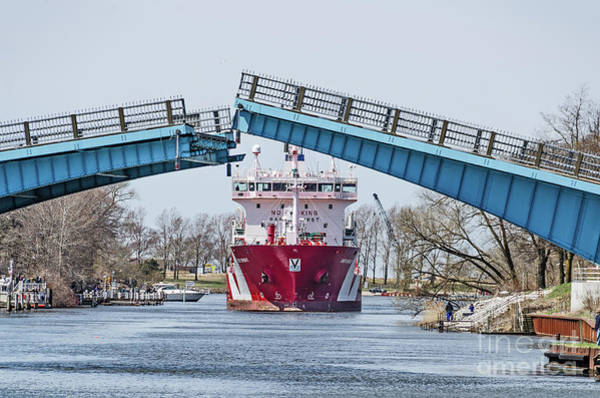 Photograph - Iver Bright Tanker Visits Manistee by Sue Smith