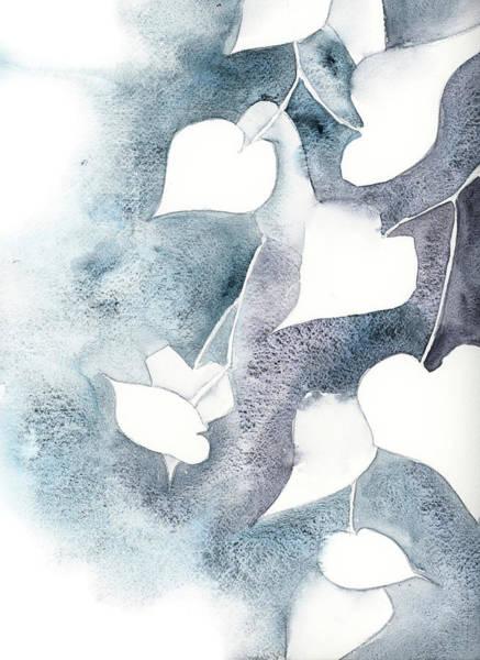 Wall Art - Painting - Ivory Ivy II by Sophia Rodionov