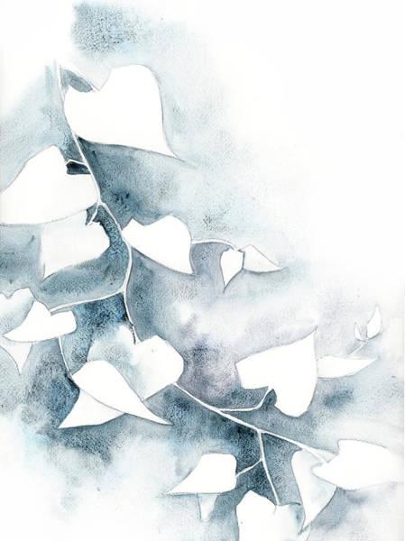Wall Art - Painting - Ivory Ivy Iv by Sophia Rodionov